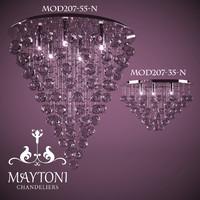 3d maytoni modern 3 lamps