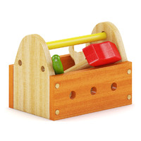 tool box toy 3d obj
