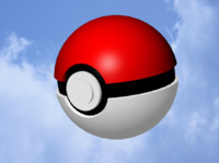3d pokeball pok e