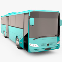 mercedes benz integro bus 3d model