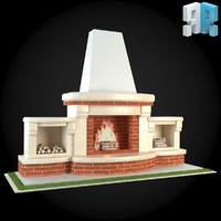 3d architectural modules model