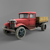 ford model aa 3D models