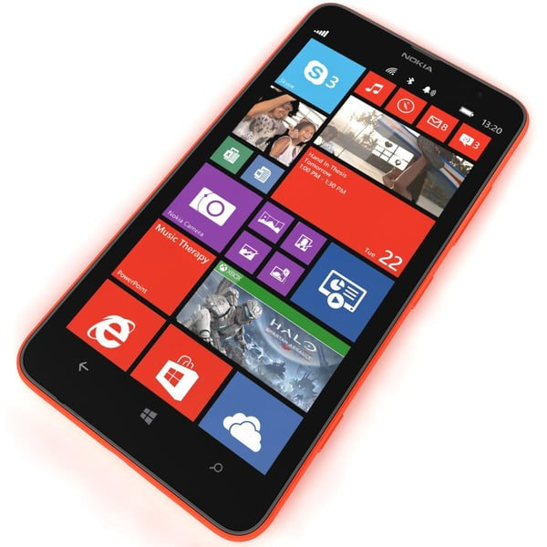 3d model nokia lumia 1...
