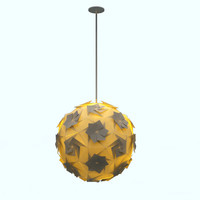 3d aperture pendant light lamp