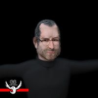 3d steve jobs rigged