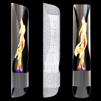 Acquaefuoco Wellness Mood TUBE fireplace