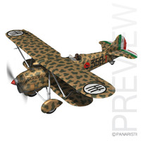 Fiat CR.32 - Italy Airforce - 358 Squadriglia