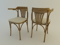 3d model of chair berlim