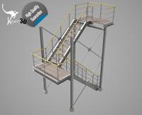 3d industrial - model