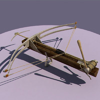 medieval bow 3d model