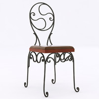 chair iron wrought max