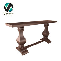 3d table console furniture model