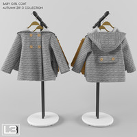 3ds max zara baby coat