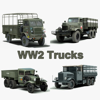 WW2 Trucks Collection