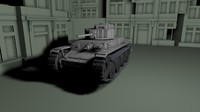 3d model panzer 38 t aus