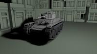 panzer 38 t aus c4d