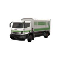garbage truck 3d model