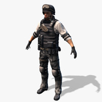 max swat soldier real-time cat