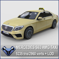 Mercedes S63 AMG BerlinTaxi