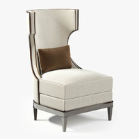 Modern Luxury Demi Wing Chair