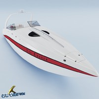 yacht 3d max
