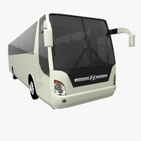 3d model hyundai universe noble