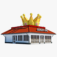 Burger King Restaurant House