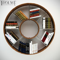 3d max shelf bookshelf