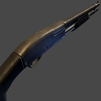 3d remington 870