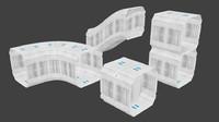 3ds modular corridors 2