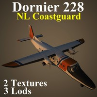 dornier 228 nl nlc 3d max
