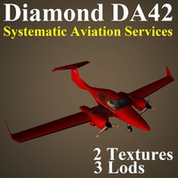 3d diamond da42 svc model
