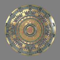 maya inka aztek sun emblem