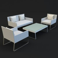 LOUNGE SET MOUGINS OUTDOOR GARDEN FUNITURE