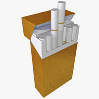 3ds max pack cigarettes