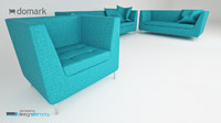 3d max sofa coco domark