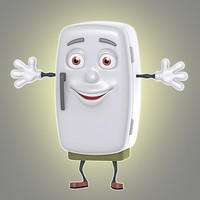 cartoon refrigerator max