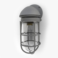 retro industrial lamp 09 3ds
