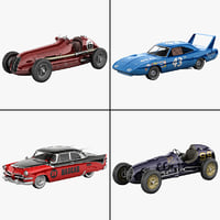 Retro Racing Cars Collection