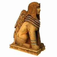 3d sphinx model