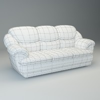 basic sofa osvald 3d model