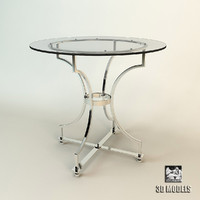eichholtz table russel 3d model