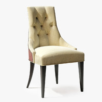ritz dining chair 3d model