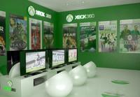 xbox 360 room interior max