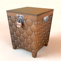 3d trunk table model