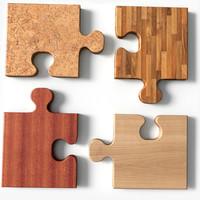 3ds max puzzle square