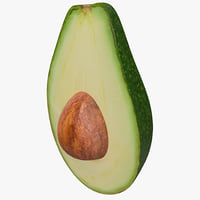 max avocado cut half