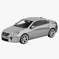 3d obj buick regal gs 2014