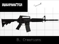 bushmaster 3d model