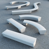 maya hebi modular bench escofet